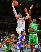 Carmelo Anthony 2012-13 Playoff Action Fine Art Print