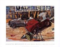 Juguetes Mecnicos II Fine Art Print