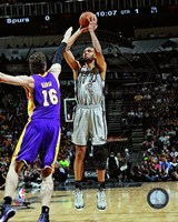 Tim Duncan 2012-13 Playoff Action Fine Art Print