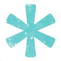 Aqua Asterisk by Veruca Salt - various sizes - $28.49