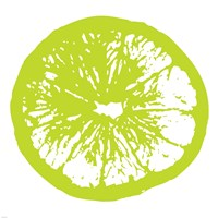 Lime Orange Slice Fine Art Print