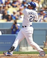 "Adrian Gonzalez 2013 Action - 8"" x 10"""