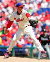 Roy Halladay 2013 Action Fine Art Print