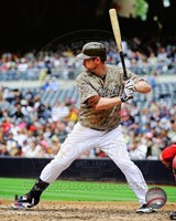 Chase Headley 2013 Action Fine Art Print