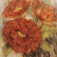 Calypso Reds II Fine Art Print