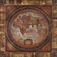 Europe/Africa Map Fine Art Print