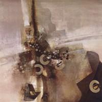 """Black and Tan by John Douglas - 24"""" x 24"""""""