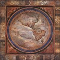"""The Americas by John Douglas - 30"""" x 30"""""""
