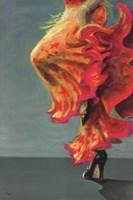Flamenco Fiesta I Fine Art Print
