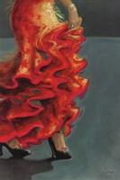 Flamenco Fiesta II Fine Art Print