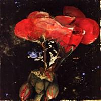 "Botany Fleur IV by Georgie - 12"" x 12"""