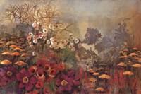 "Wild Garden by Georgie - 36"" x 24"""