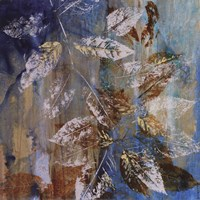 "Jewelled Leaves XII by Jennifer Hollack - 16"" x 16"""
