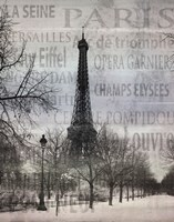 Paris II Fine Art Print