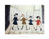 Children Playing Fine Art Print