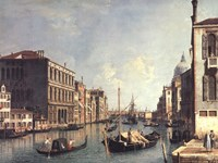 The Grand Canal, Venice Fine Art Print
