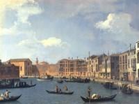 View Of The Canal Of Santa Chiara Fine Art Print