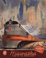Hiawatha 1937 Fine Art Print