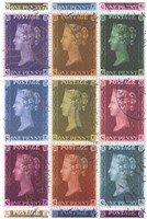 Stamp Collection Fine Art Print