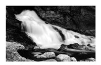 "36"" x 24"" Waterfall Photography"