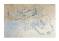 """Two Figures by the Sea by Barbara Hepworth - 34"""" x 24"""""""