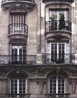 Balcon Parisien I Fine Art Print