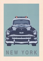 New York - Cop Car Fine Art Print