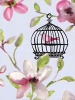 "18"" x 24"" Bird Cage Art"