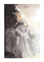 White Aubretia Fine Art Print