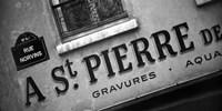 Paris Streets I Framed Print