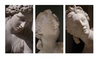 Louvre Triptych Fine Art Print