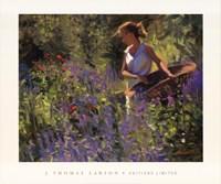 "Cutting Garden by Thomas J. Larson - 24"" x 20"""