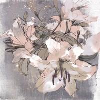 Painted Lilies I Fine Art Print