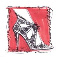 Catwalk Heels III Fine Art Print