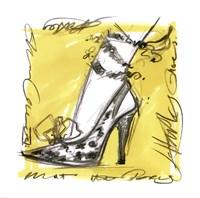 "Catwalk Heels IV by Jane Hartley - 12"" x 12"""