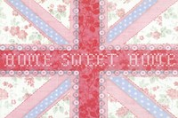 Union Jack, Home Sweet Home Fine Art Print