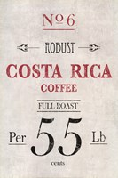 Costa Rican Coffee Fine Art Print