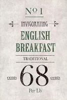English Breakfast Tea Fine Art Print