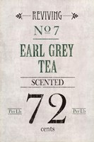 Earl Grey Tea Fine Art Print