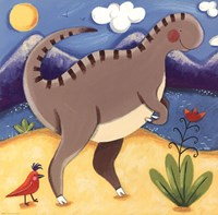 Baby Izzy The Iguanodon Fine Art Print