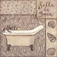 Salle De Bain Fine Art Print
