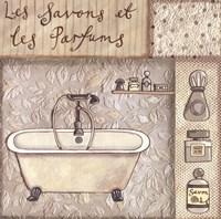 """Les Savons Et Les Parfums by Sophie Harding - 8"""" x 8"""""""