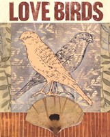 Love Birds I Fine Art Print