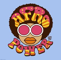 Afro Power Fine Art Print