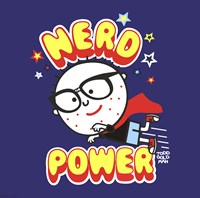Nerd Power Fine Art Print