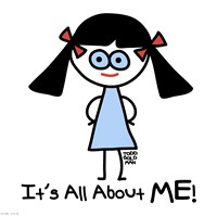 All about ME! Fine Art Print