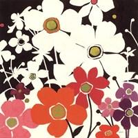 "Flower Power I by Shirley Novak - 18"" x 18"" - $13.99"
