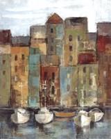 Old Town Port I Fine Art Print
