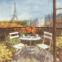 September in Paris Crop Fine Art Print