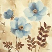 "Poppies Three II by Albena Hristova - 18"" x 18"", FulcrumGallery.com brand"
